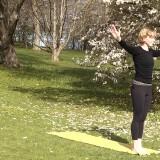 Yoga i Botaniska trädgården
